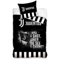 Bavlněné povlečení Juventus Take a Shot, 140 x 200 cm, 70 x 90 cm