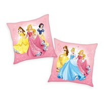 Mała poduszka Princess pink, 40 x 40 cm