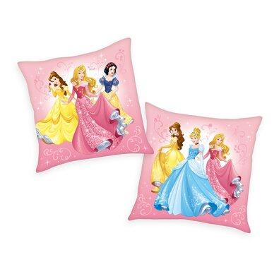 Polštářek Princess pink, 40 x 40 cm