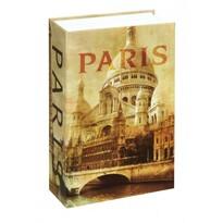 Paris könyv formájú széf