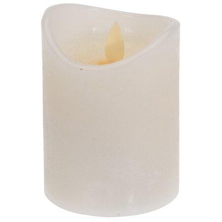 LED sviečka, 7,5 x 10 cm