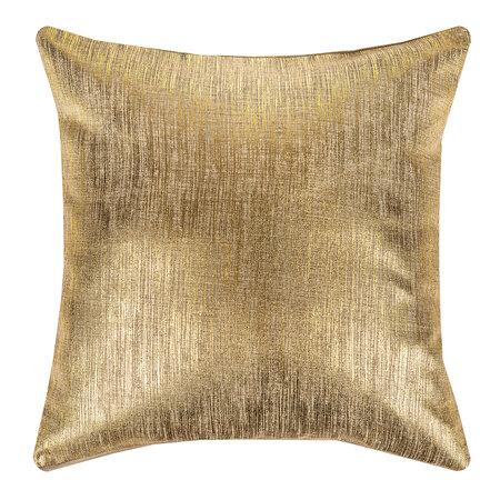 Vánoční povlak zlatá, 40 x 40 cm