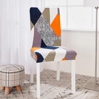 Husă multielastică scaun 4Home Retro, 45 - 50 cm, set 2 buc.
