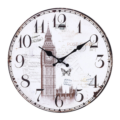 Nástěnné hodiny Big Ben 34 cm