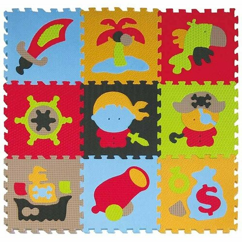 Baby Great Penové puzzle Piráti SX (30x30)