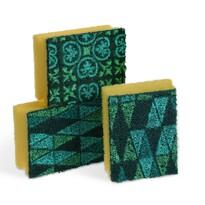 Spontex Mosaik hubka na riad, 3 ks