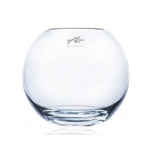 Skleněná váza Globe, 15,5 x 14 cm
