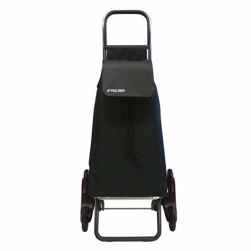 Rolser Saquet LN Rd6 nákupní taška s kolečky do schodů, černá