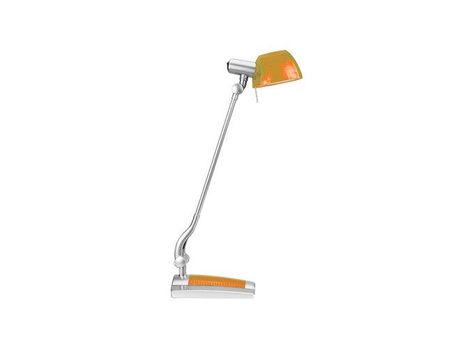 Stolná lampa Ginevra uno, oranžová, Panlux