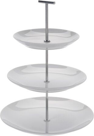 Koopman 3 emeletes porcelán állvány