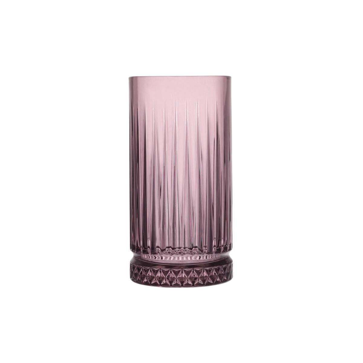 Mäser 4dílná sada sklenic Elysia 450 ml, růžová