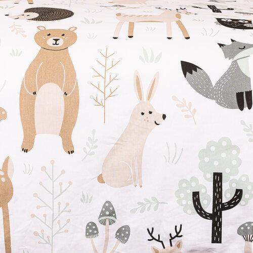 4Home Bavlněné povlečení Nordic Friends, 140 x 200 cm, 70 x 90 cm