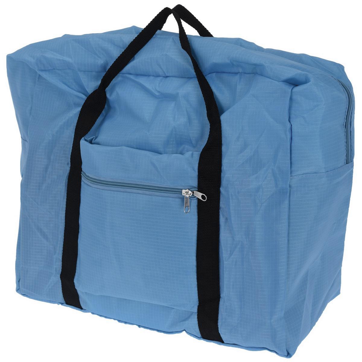 Koopman Skladacia cestovná taška tmavomodrá, 44 x 37 x 20 cm