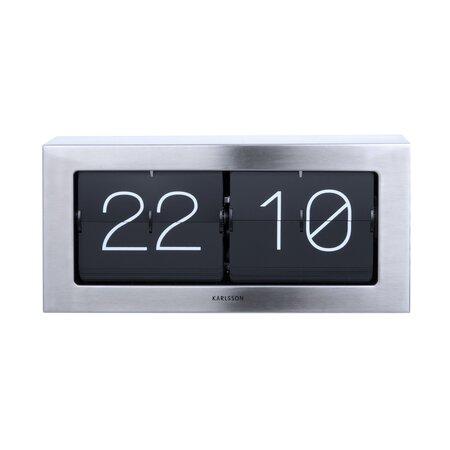 Karlsson 5642ST dizájner asztali billenthető óra, 37 cm