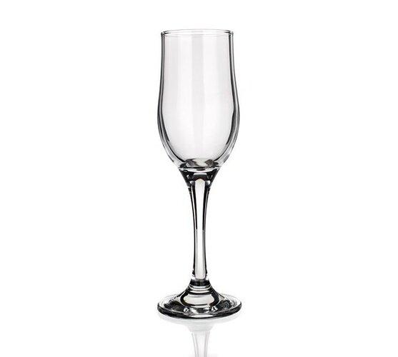 Sada pohárov 4YOU Tulipe 200 OK6 šampanské flétna Vetro-Plus