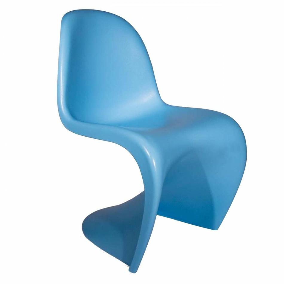 Vitra Stolička Panton Junior, svetlo modrá