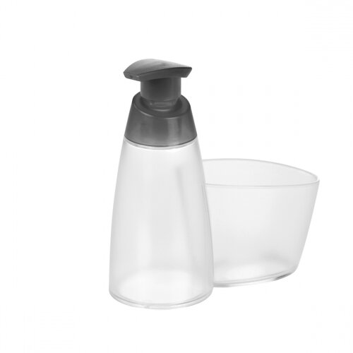 Dozator detergent Tescoma CLEAN KIT, cu loc pentruburete, 350 ml