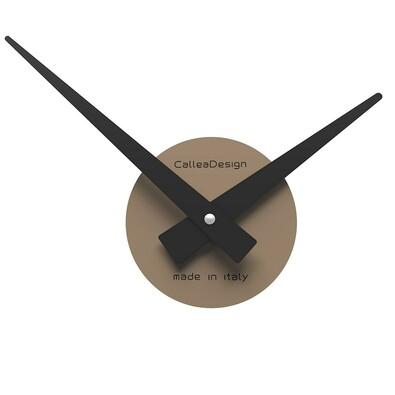 CalleaDesign 10-311-14 nástěnné hodiny hnědé