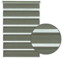 Roleta easyfix podwójna brązowy, 90 x 220 cm