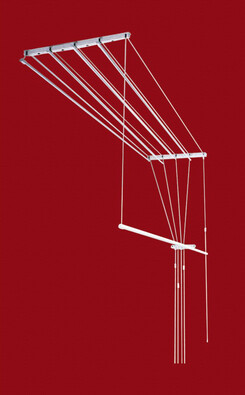 Stropní sušák 1,2 m, 5x tyč