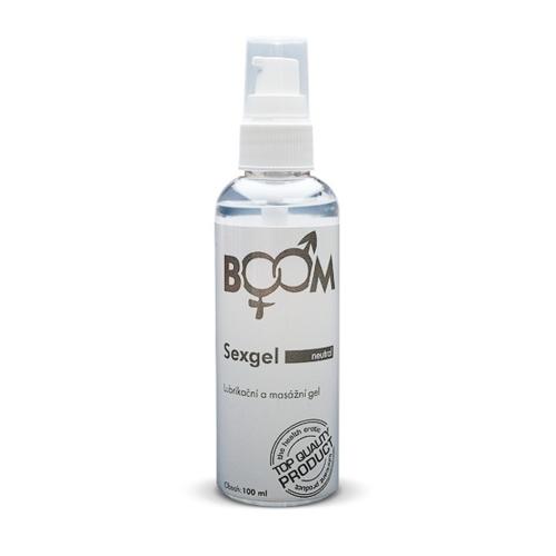 BOOM Sexgel lubrikační gel Neutral 100 ml