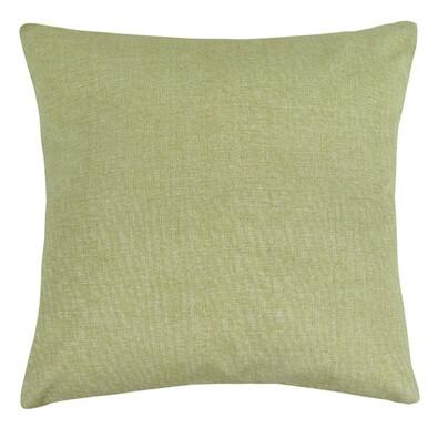 Polštářek Ivo zelená režná, 45 x 45 cm