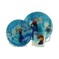 Mäser KOTIPI 3-częściowy dziecięcy zestaw jedzeniowy Frozen Winter Magic