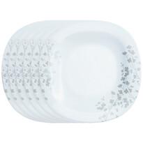 Luminarc Ombrelle desszertes tányér készlet , 19 cm, 6 db, fehér