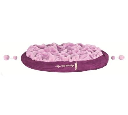 Plyšový pelíšek Askino, purpurová