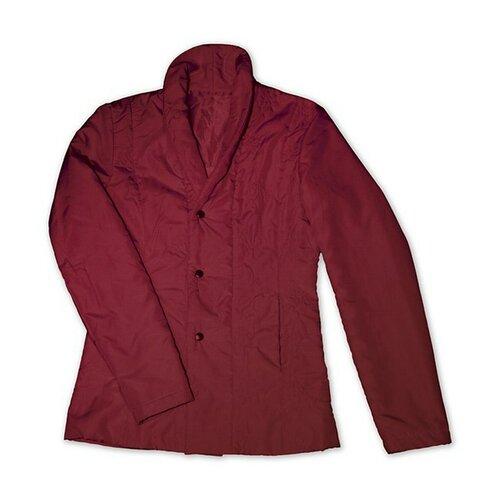 Prešívaný kabátik vínová