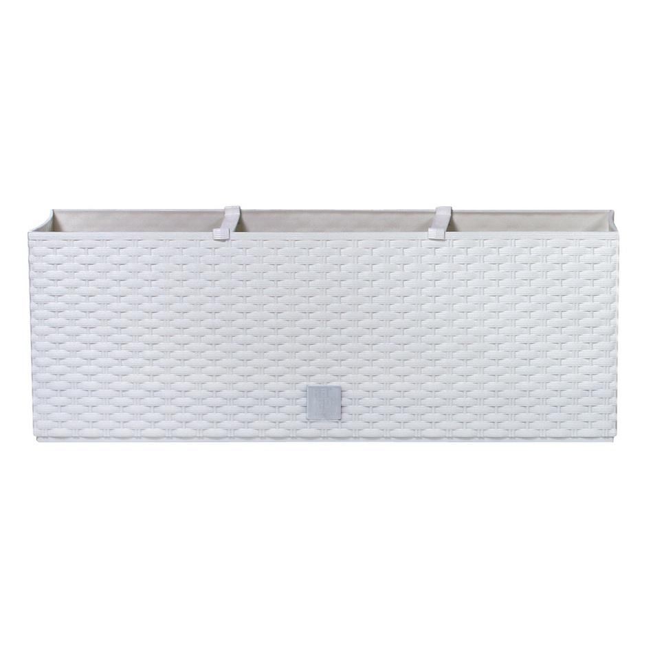 Prosperplast Truhlík RATO CASE bílý 51,4x19x18,6cm