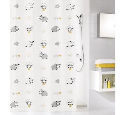 Kleine Wolke sprchový závěs Ovečky bílá