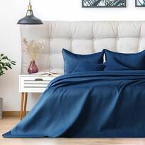 AmeliaHome Cuvertură de pat Carmen darkblue, 220 x 240 cm
