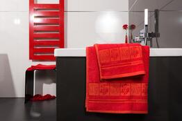 4Home Uterák Bamboo Premium červená, 50 x 100 cm, sada 2 ks