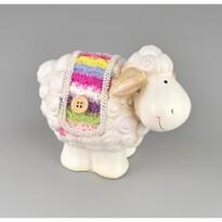 Keramická ovečka Justýna, 8,5 cm
