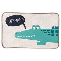 Krokodil gyermekszőnyeg, 50 x 78 cm