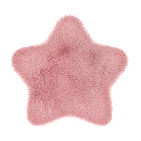 Domarex Blană Soft Star Plush roz, 60 x 60 cm