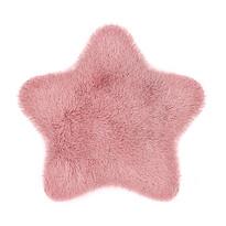 Domarex Soft Star Plush műszőrme, rózsaszín, 60 x 60 cm