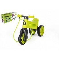 Teddies Odrážedlo Funny wheels Rider SuperSport 2v1, zelená