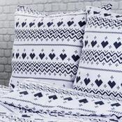 4Home Flanelové povlečení Nordic Love, 140 x 200 cm, 70 x 90 cm