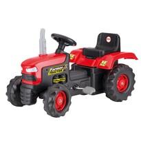 Dolu Velký šlapací traktor, červená