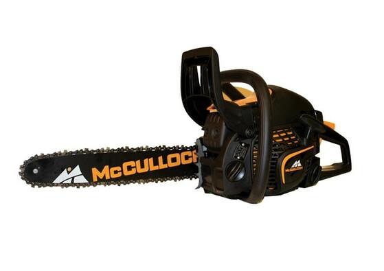 Benzínová řetězová pila MC Culloch CS 340S, černá
