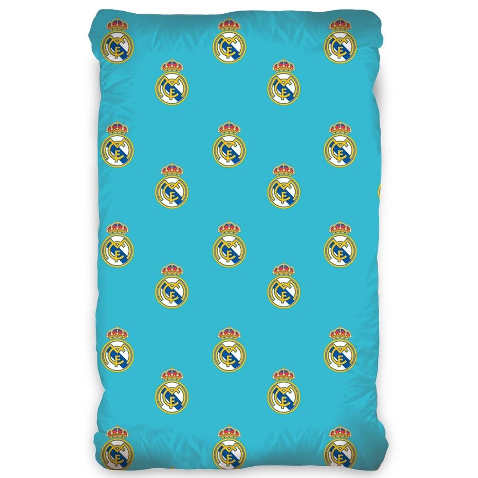 CarboTex Bavlněné prostěradlo Real Madrid, 90 x 200 cm