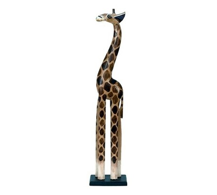 Dřevořezba žirafa, 100 cm