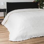 Přehoz na postel Barok, 220 x 260 cm, béžová