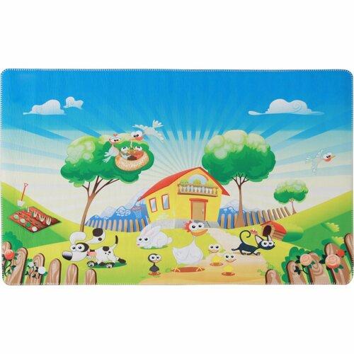 Tempo Kondela Dětský koberec Jenny zvířecí farma, 130 x 200 cm