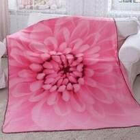 Pătură Domarex Harmony, roz, 150 x 200 cm