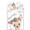 Detské bavlnené obliečky do postieľky Bambi, 100 x 130 cm, 40 x 60 cm
