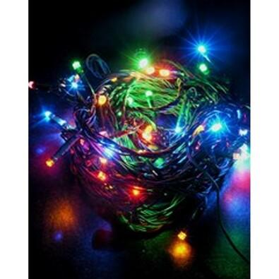 Vánoční světelný řetěz Solight, vícebarevný, 120 L