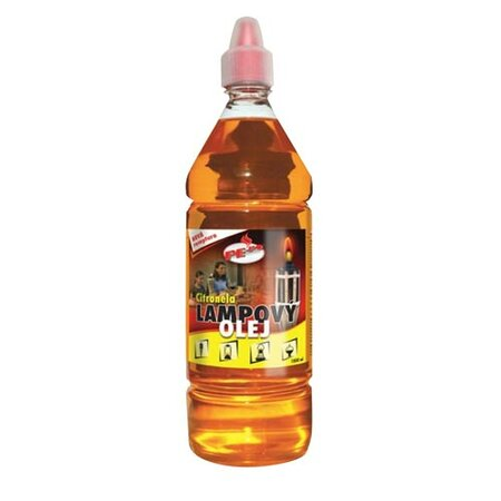Olej lampový PE-PO 1l citronela,